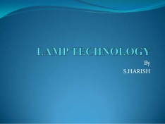 LAMP Technology Slide Share